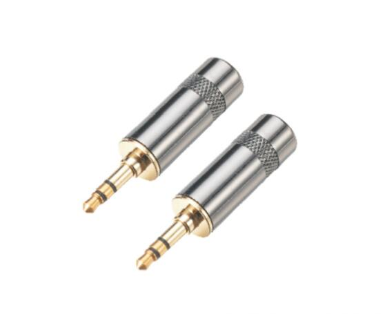 3.5mm stereo male plug