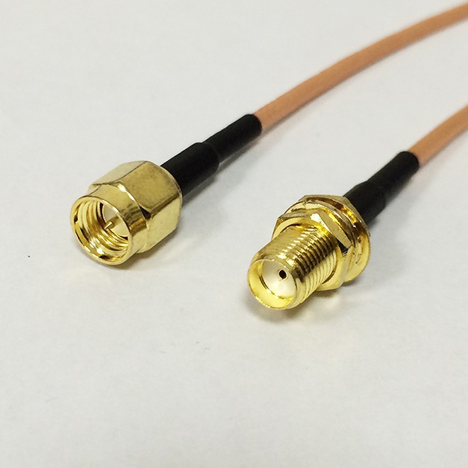 SMA Male Switch SMA Female Pigtail Cable RG316