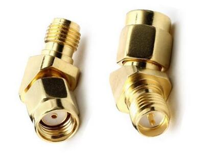 RP-SMA male to RP-SMA female connector