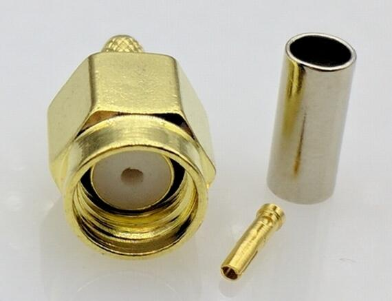 RP-SMA Female Jack RF SMA Connector for 50-1.5 For