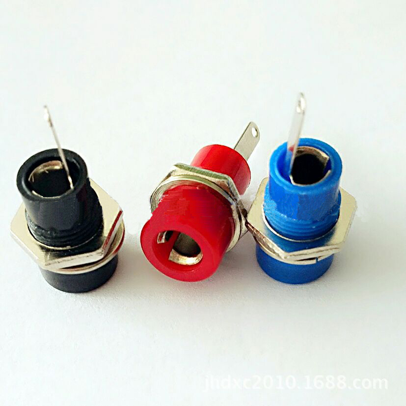 4MM banana socket speaker socket lantern socket